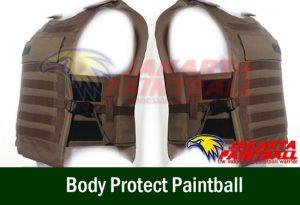 Body Protect Paintball Coklat