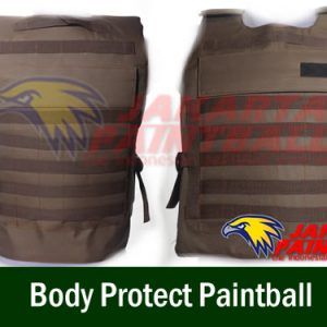 Body Protect Paintball Coklat