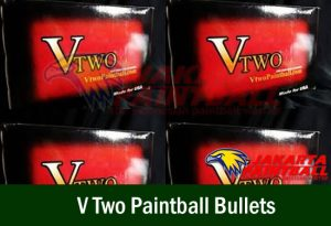 V Two Paintball Bullets