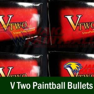 V Two Paintball Bullets