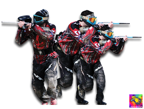usaha paintball