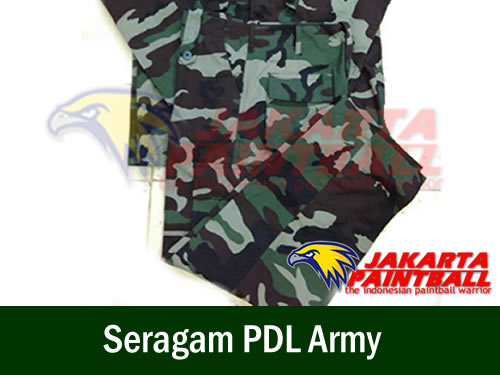 Seragam PDL Army